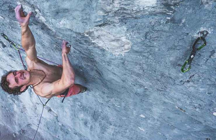 Adam Ondra klettert First Flight (8c+) in Kanada onsight