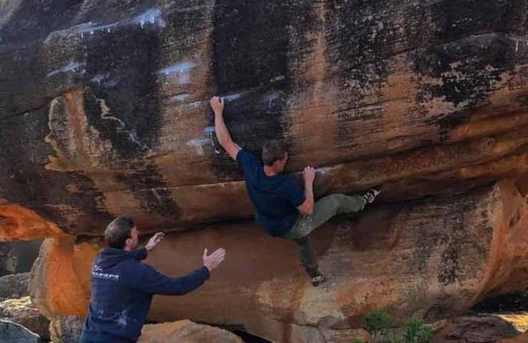 Diese Boulder knackt Nalle Hukkataival in einem Tag