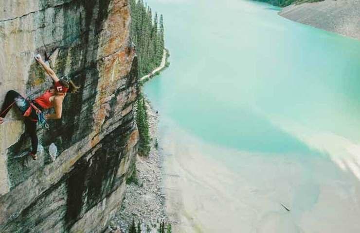 Barbara Zangerl und Jacopo Larcher begehen The Path in Kanada