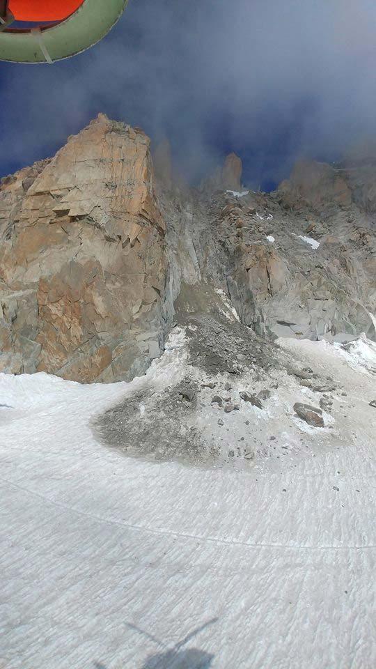 Schuttfeld-nach-dem-Felssturz-am-Mont-Blanc