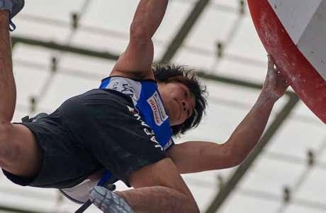 Slowenien räumt Medaillen am Boulderweltcup in München ab