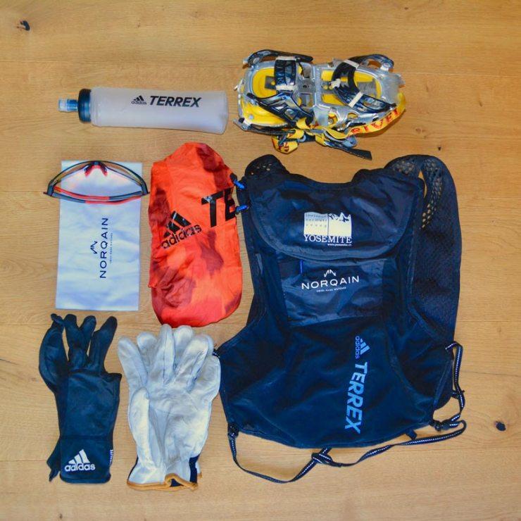 Andreas Steindl reduzierte seine Ausrüstung auf das absolute Minimum (Bild Andreas Steindl)