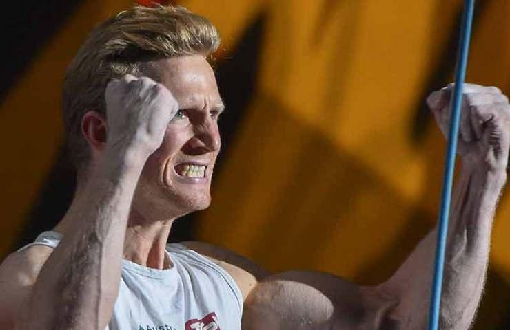 Jakob Schubert gewinnt Gold an den Lead-Weltmeisterschaften in Innsbruck