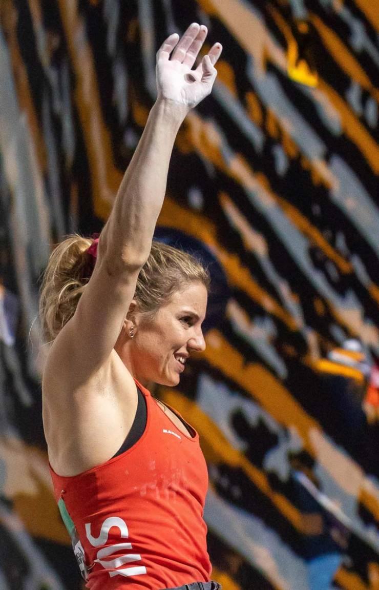 Petra Klingler konnte den WM-Titel nicht erneut nach Hause holen.