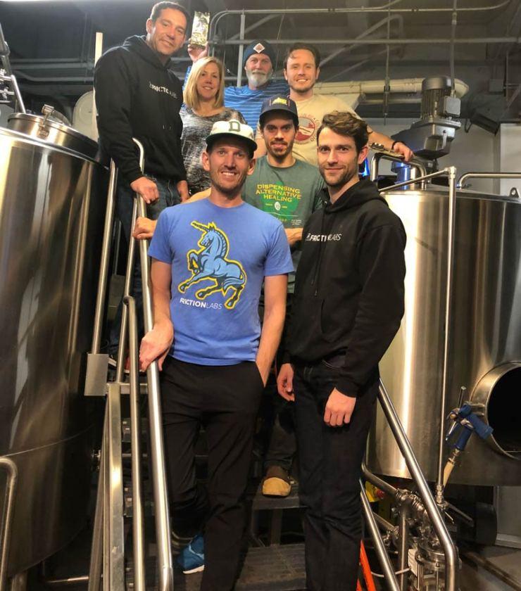 Das Bier entstand dank Wynkoop Brewing Co. und FrictionLabs