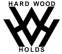 hard wood holds logo