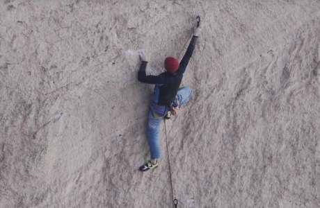 Video: Adam Ondra beim Onsightversuch der Route Just do it bei Smith Rock