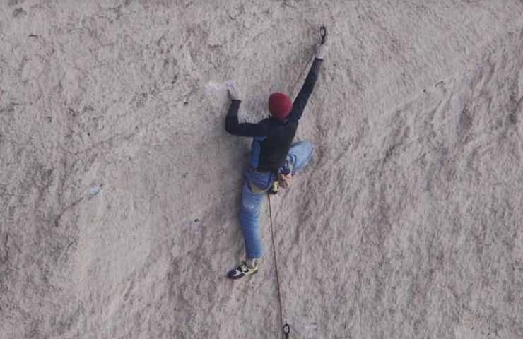 Video: Adam Ondra beim Onsightversuch der Route Just do it bei Smith Rock