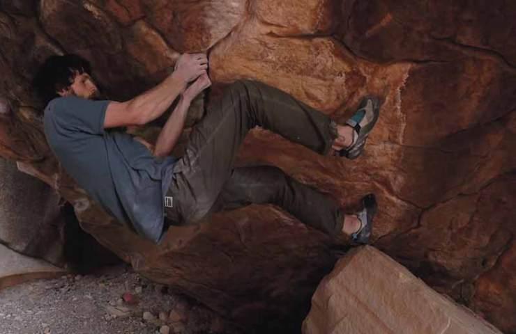 Jimmy Webb klettert den wohl schwersten Boulder der USA: Sleepwalker (8c+)