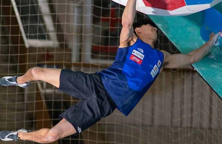 Jernej Kruder und Janja Garnbret gewinnen den Weltcup in Moskau