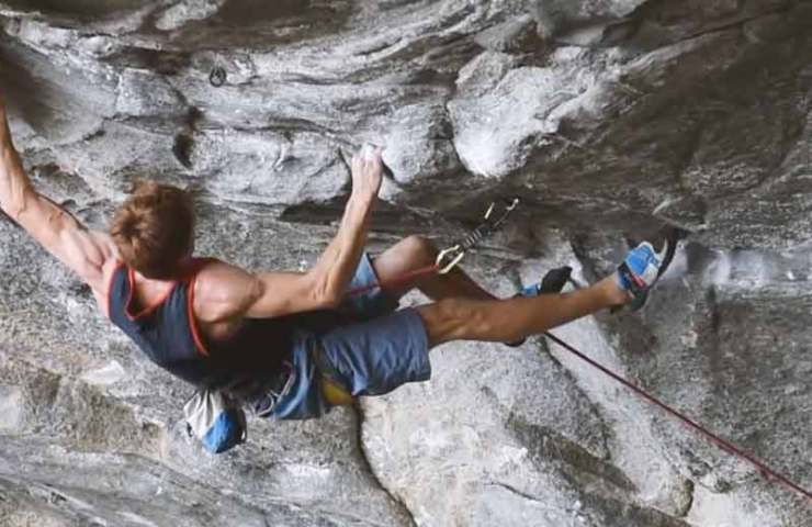 Seb Bouin climbs one of the hardest routes in the world: Move (9b / 9b +)