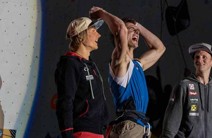 Adam Ondra and Chaehyun Seo win gold at the IFSC World Cup in Chamonix