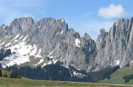 Felssturz im fribourgischen Klettergebiet Gastlosen
