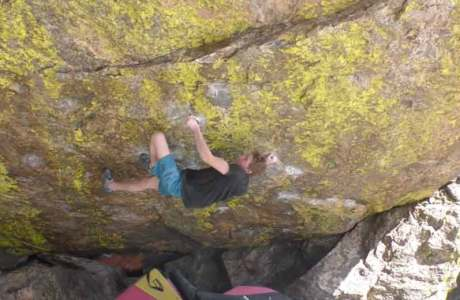 Video: Giuliano Cameroni at the first ascent of Blade Runner (8c)