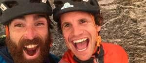 Roger Schäli begeht La Vida es Silbar am Eiger in einem Tag