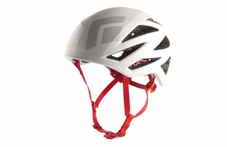 El casco de escalada Vapor de Black Diamond: ligero y cómodo.