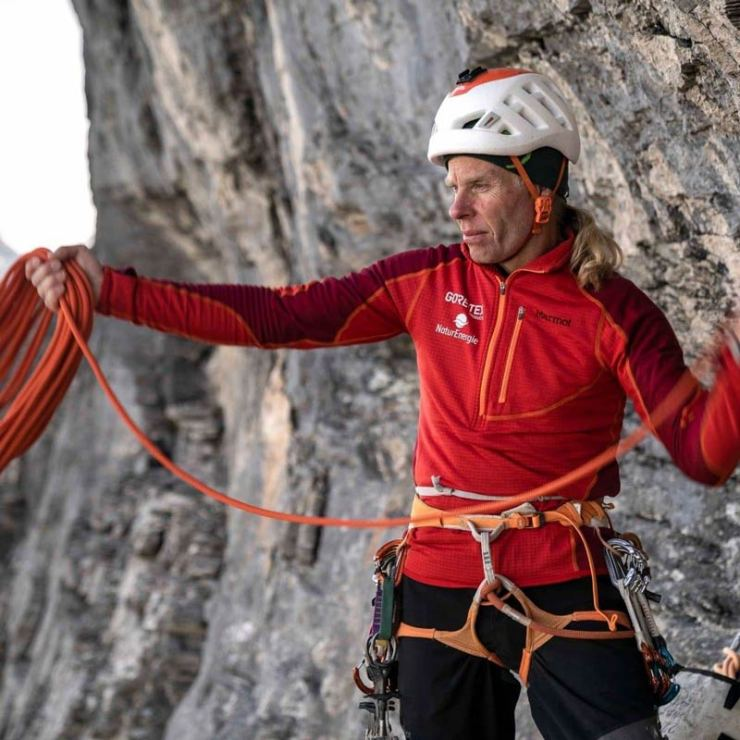 Robert Jasper liebt es im Alleingang zu klettern. (Bild Nicolas Hojac)