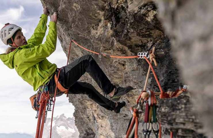 Robert Jasper klettert neue Route am Eiger Rope Solo: Meltdown