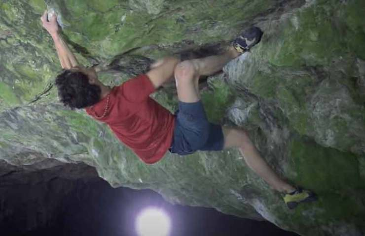 Video: Adam Ondra commits the Boulder Ghost Rider (8c) - for training purposes