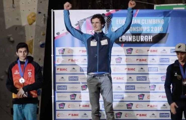 Video: Adam Ondra bricht den Bann und gewinnt die Europameisterschaft 2019