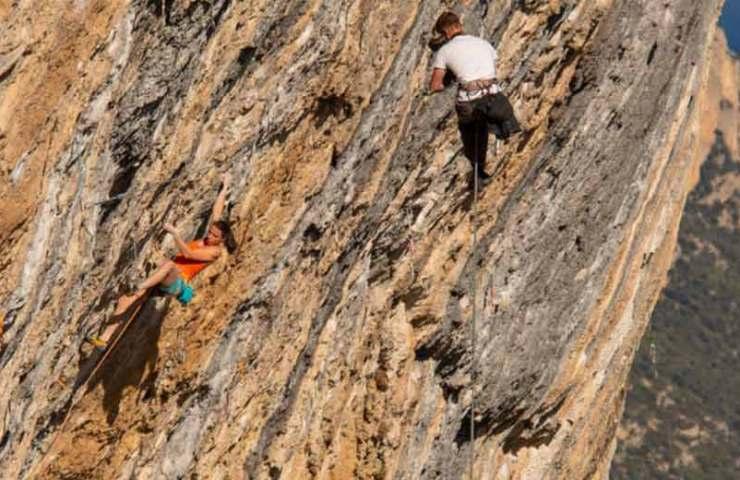 Die Belgierin Anak Verhoeven klettert mit Joe Joe Mama ihre zweite 9a+