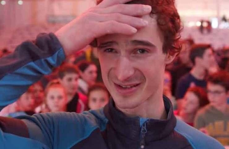 Toulouse war für Adam Ondra Stress pur