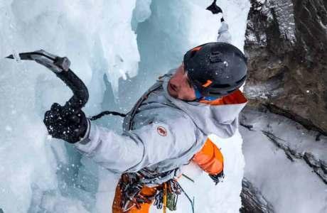 Paradice: Filmpremiere des Eiskletter-Films mit Nicolas Hojac, Jonas Schild und Stephan Siegrist