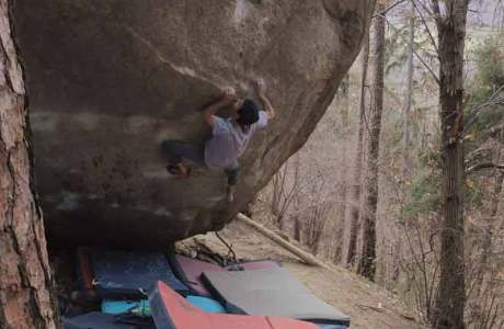 Paul Robinson repeats REM (8c+) and suggests 8b+