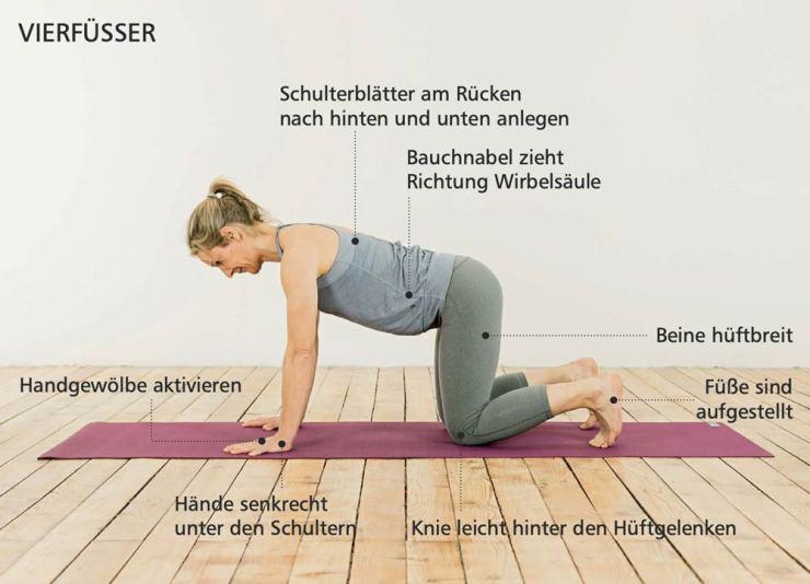 Yoga_Posición inicial_cuatro pies_Petra-Zink