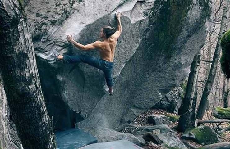 Jonas Winter con primeras ascensiones en Val Bavona: Enkidu y La Peregrina