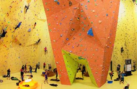 Do you go back to the climbing hall after the reopening?
