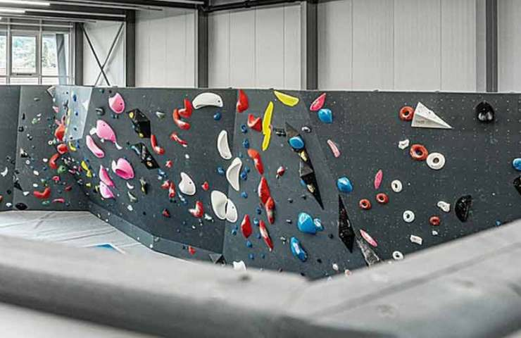 New climbing hall in the city of Biel: Grip climbing