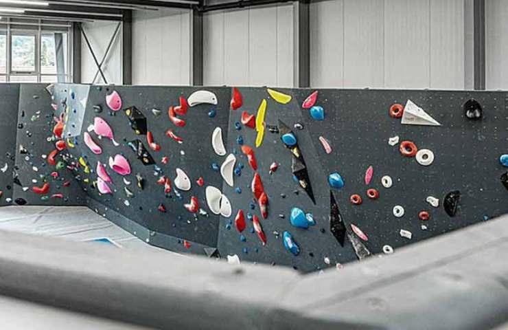Nueva sala de escalada en la ciudad de Biel: escalada de agarre