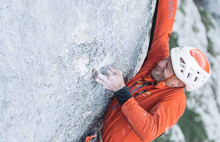 Interview: Cédric Lachat on the difficult alpine climbing route Wogü