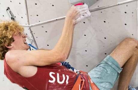 Anne-Sophie Koller y Dylan Chuat suben al Swiss Lead Championship