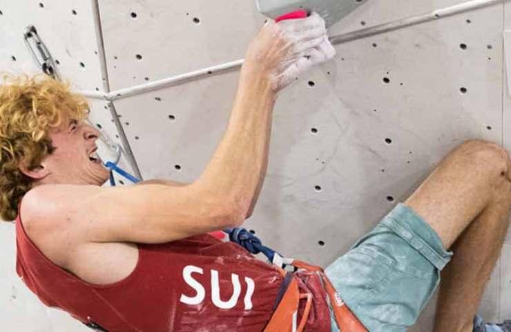 Anne-Sophie Koller und Dylan Chuat klettern zum Schweizer Lead-Meistertitel