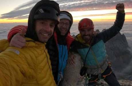 Gebrüder Pou eröffnen neue schwere Route: Rayu (8c, 600m)
