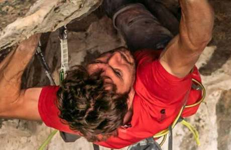 Stefano Ghisolfi climbs Change (9b +) in Flatanger