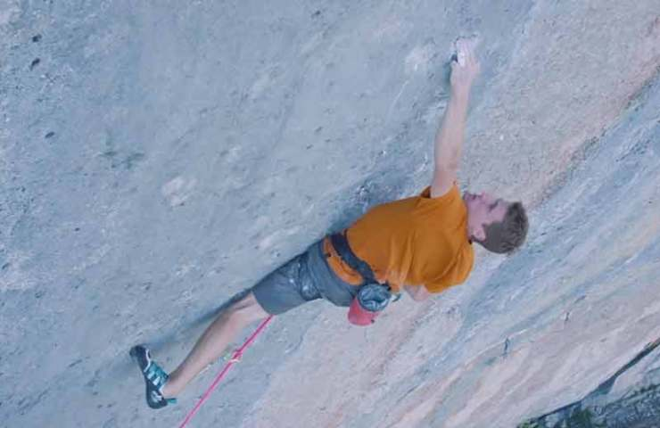 Sébastien Bouin on biography - the first 9a + route in the world