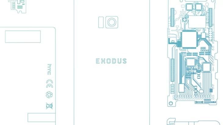 Un téléphone sur la blockchain, le HTC Exodus