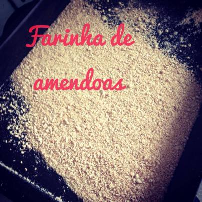 farinha de amendoas