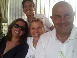 Il grande Maurizio Crozza e la splendida Carla Signoris