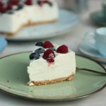 Cheesecake fredda fit con Skyr e yogurt greco