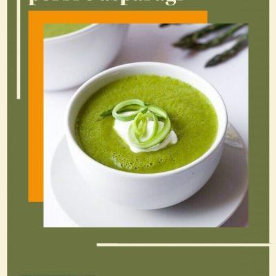 Crema di asparagi e porri