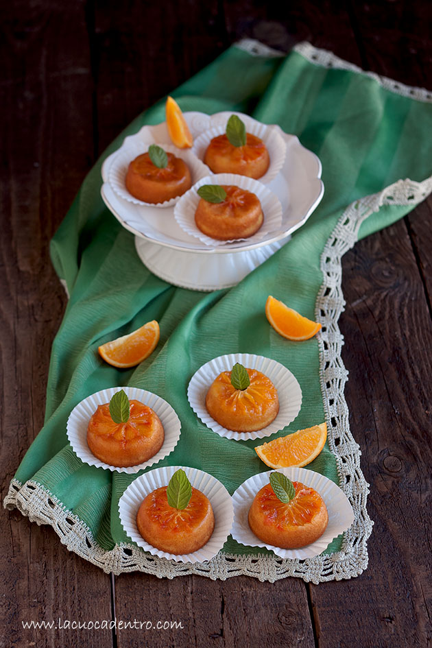 tortine arancia e caramello