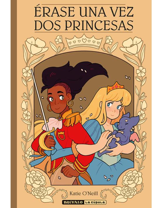 """Érase una vez dos princesas"", de Katie O'Neill."