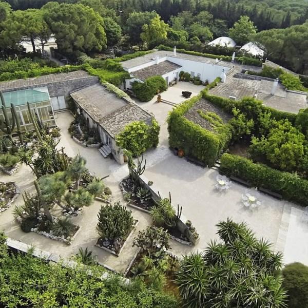 Giardino Roccioso - Vista dall'alto
