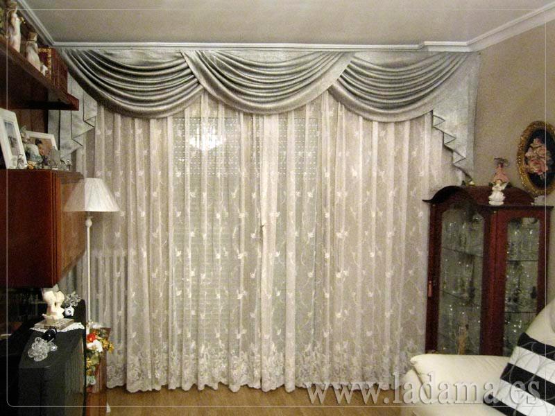 Volantes para cortinas de Estilo Clsico  La Dama Decoracin