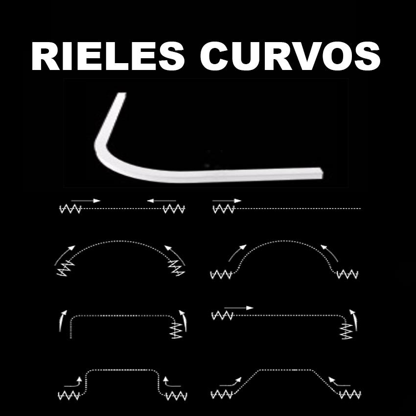 Rieles Curvos para Cortinas en Zaragoza