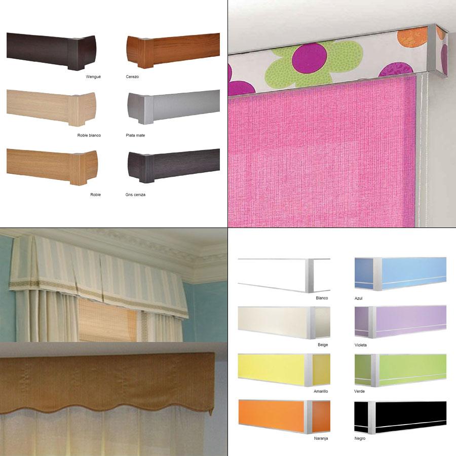 Galeras y Bandos para cortinas  La Dama Decoracin